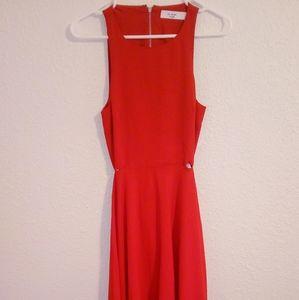 Ali & Jay Red Dress